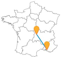 Voyages en bus de Clermont-Ferrand à Marseille low cost