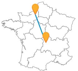 Vacances low cost en car de Clermont-Ferrand à Rouen