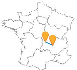 Trouver et réserver un billet de bus Clermont-Ferrand à Saint-Etienne