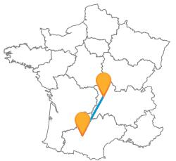 Voyager pas cher en bus de Clermont-Ferrand à Toulouse