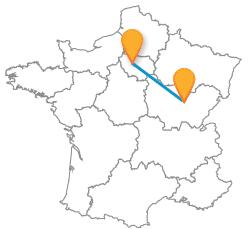 Le meilleur des trajets en bus de Dijon à Paris