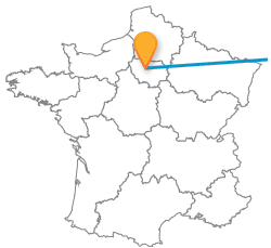 Comparez tous les trajets en bus de Francfort à Paris