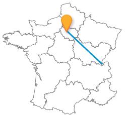 Choisissez le meilleur trajet en bus de Genève à Paris