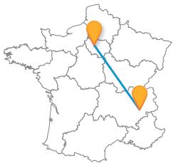 Les voyages en bus de Grenoble à Paris les moins chers