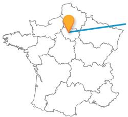 Trajets pas cher en bus de Karlsruhe à Paris
