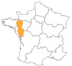 Voyagez pas cher en bus de La Rochelle à Nantes