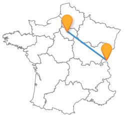 Voyagez pas cher en Europe en bus de Lausanne à Paris