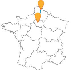 Billets pas cher de bus de Lens, Pas de Calais à Paris