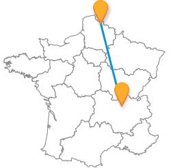 Trouver et comparer les bus de Lille à Lyon