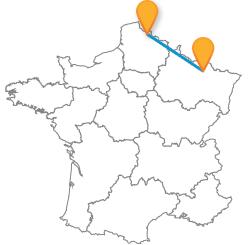 Voyagez en bus de Lille à Metz pas cher