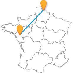 Tous les voyages pas cher en bus de Lille à Nantes