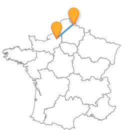 Voyagez de Lille à Rouen au meilleur prix !