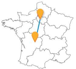 Partir en voyage en bus de Limoges à Paris