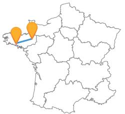Trouvez un car de Lorient à Rennes pas cher !