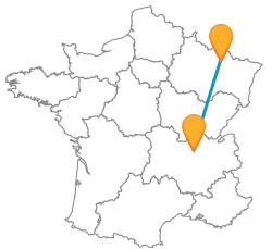 Comparez les bus de Lyon à Metz à petit prix