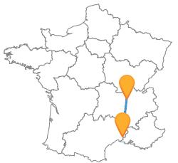 Partir en vacances en bus de Lyon à Nîmes pas cher