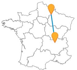 Comparer les prix des trajets de bus de Lyon à Reims