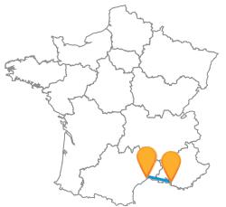 Tous les trajets en bus de Marseille à Montpellier au meilleur prix