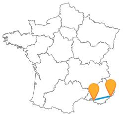 Trouvez votre bus de Marseille à Nice