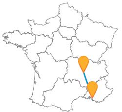 Trajets pas cher en bus de Marseille à Saint-Etienne