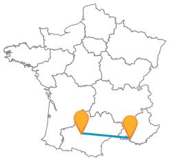 Trouvez un bus de Marseille à Toulouse sur notre comparateur