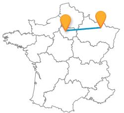 Voyagez en bus de Metz à Paris