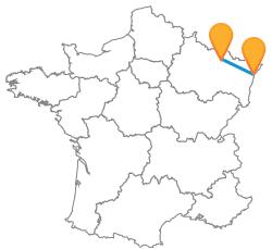 Trouver un billet de bus de Metz à Strasbourg
