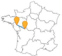 Tous les trajets de Nantes à Poitiers au meilleur prix