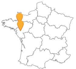 Trajets en bus de Nantes à Rennes pas cher