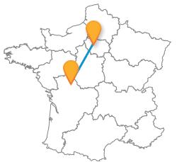 Prendre un bus de Paris à Poitiers