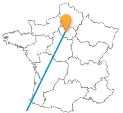 Tous les trajets en car de Paris à Porto pas cher
