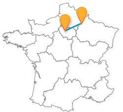 Tous les trajets en bus de Paris à Reims au meilleur prix