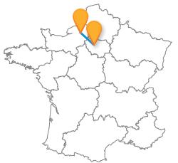 Bus de Paris à Rouen au meilleur prix