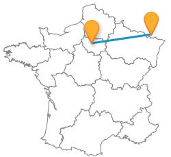 Partir en car de Paris à Sarrebruck low cost