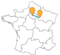 Trouvez un billet de bus de Paris à Troyes au meilleur prix