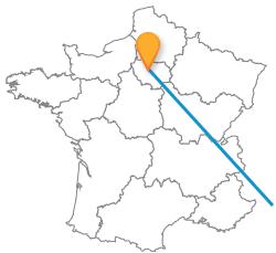 Trouver un trajet en car de Paris à Turin
