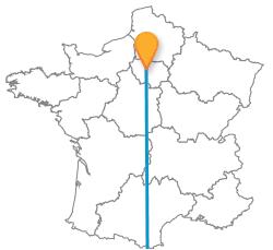 Comparer les billets de bus de Paris à Valence, Espagne