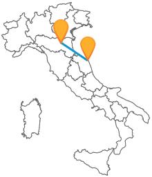 Viaggiate velocemente con un economico autobus tra Ancona e Bologna