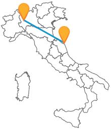 Controllate il costo del biglietto del pullman da Ancona a Milano