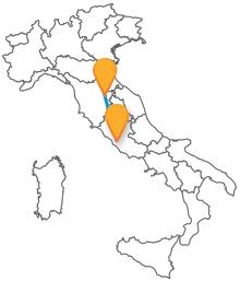 Dalla Toscana alla capitale con un autobs da Arezzo a Roma sarà un viaggio rilassante e confortevole