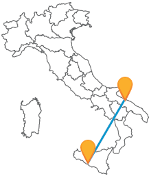 Col bus tra Avellino e Bari viaggiate tra i due versanti della penisola