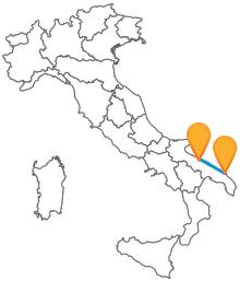 Prendete un pullman da Bari a Brindisi e viaggiare tra i due porti più importanti di Puglia