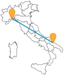 Viaggiate con economici pullman tra Bari e Genova