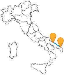 Alla scoperta della Puglia con l'autobus da Bari a Lecce