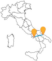 Con l'autobus tra Bari e Napoli viaggerete comodi e sicuri