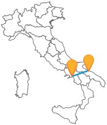 In viaggio nel Sud Italia grazie agli autobus da Bari a Salerno