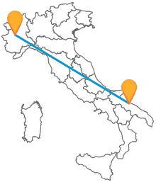 Attraversa tutta l'Italia viaggiando low cost in autobus tra Bari e Torino