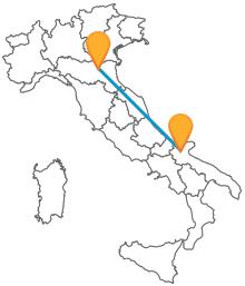 Con il pullman da Bologna a Foggia muoversi lungo l'Adriatico in bus vi permetterà di risparmiare