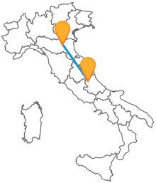 Muovetevi in tutto relax con un comodo autobus da Bologna a L'Aquila