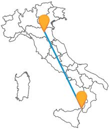 Viaggiare comodamente e risparmiare non sarà un problema con il pullman da Bologna a Messina